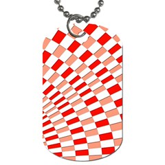 Graphics Pattern Design Abstract Dog Tag (one Side)