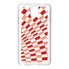 Graphics Pattern Design Abstract Samsung Galaxy Note 3 N9005 Case (white)
