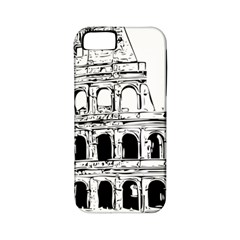 Line Art Architecture Apple Iphone 5 Classic Hardshell Case (pc+silicone)