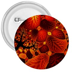 Leaf Autumn Nature Background 3  Buttons