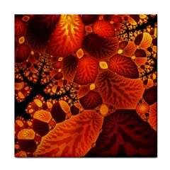 Leaf Autumn Nature Background Face Towel