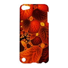 Leaf Autumn Nature Background Apple Ipod Touch 5 Hardshell Case by Sapixe