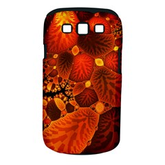 Leaf Autumn Nature Background Samsung Galaxy S Iii Classic Hardshell Case (pc+silicone)