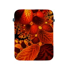 Leaf Autumn Nature Background Apple Ipad 2/3/4 Protective Soft Cases by Sapixe