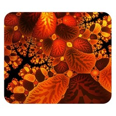 Leaf Autumn Nature Background Double Sided Flano Blanket (small)