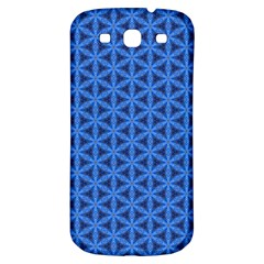 Blue Snake Scales Pattern Samsung Galaxy S3 S Iii Classic Hardshell Back Case