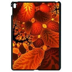 Leaf Autumn Nature Background Apple Ipad Pro 9 7   Black Seamless Case