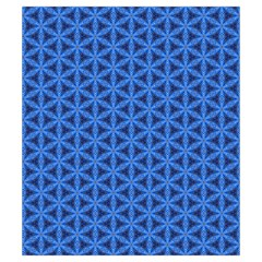 Blue Snake Scales Pattern Drawstring Pouches (small)