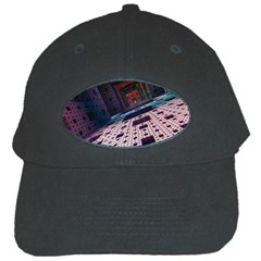 Industry Fractals Geometry Graphic Black Cap