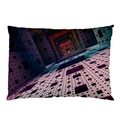 Industry Fractals Geometry Graphic Pillow Case (two Sides)