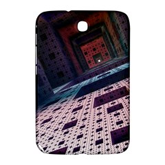Industry Fractals Geometry Graphic Samsung Galaxy Note 8 0 N5100 Hardshell Case
