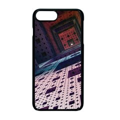 Industry Fractals Geometry Graphic Apple Iphone 7 Plus Seamless Case (black)