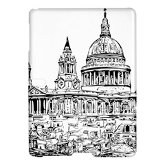 Line Art Architecture Church Samsung Galaxy Tab S (10 5 ) Hardshell Case