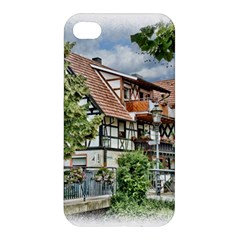 Homes Building Apple Iphone 4/4s Premium Hardshell Case