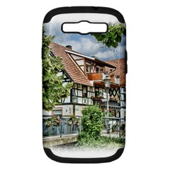 Homes Building Samsung Galaxy S Iii Hardshell Case (pc+silicone)