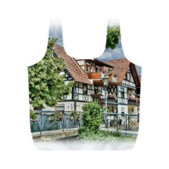 Homes Building Full Print Recycle Bags (m)