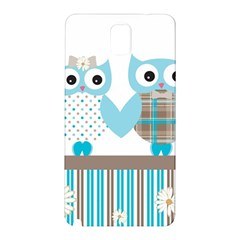 Owl Animal Daisy Flower Stripes Samsung Galaxy Note 3 N9005 Hardshell Back Case