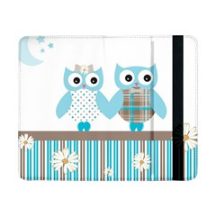 Owl Animal Daisy Flower Stripes Samsung Galaxy Tab Pro 8 4  Flip Case