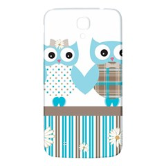 Owl Animal Daisy Flower Stripes Samsung Galaxy Mega I9200 Hardshell Back Case