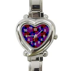 Pattern Abstract Wallpaper Art Heart Italian Charm Watch