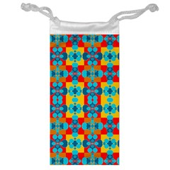 Pop Art Abstract Design Pattern Jewelry Bags