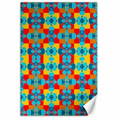 Pop Art Abstract Design Pattern Canvas 20  X 30