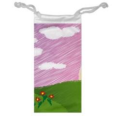Pine Trees Trees Sunrise Sunset Jewelry Bags