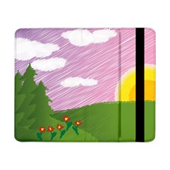 Pine Trees Trees Sunrise Sunset Samsung Galaxy Tab Pro 8 4  Flip Case