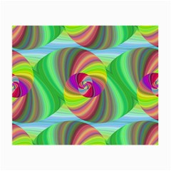Seamless Pattern Twirl Spiral Small Glasses Cloth (2 Side)