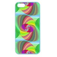Seamless Pattern Twirl Spiral Apple Seamless Iphone 5 Case (color)