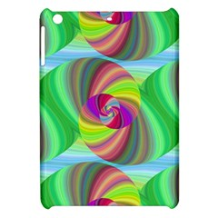 Seamless Pattern Twirl Spiral Apple Ipad Mini Hardshell Case