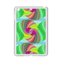 Seamless Pattern Twirl Spiral Ipad Mini 2 Enamel Coated Cases by Sapixe