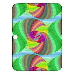 Seamless Pattern Twirl Spiral Samsung Galaxy Tab 3 (10 1 ) P5200 Hardshell Case