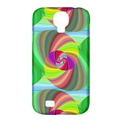 Seamless Pattern Twirl Spiral Samsung Galaxy S4 Classic Hardshell Case (pc+silicone)