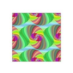 Seamless Pattern Twirl Spiral Satin Bandana Scarf