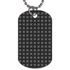 Kaleidoscope Seamless Pattern Dog Tag (one Side)
