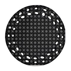 Kaleidoscope Seamless Pattern Ornament (round Filigree)