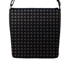Kaleidoscope Seamless Pattern Flap Messenger Bag (l)