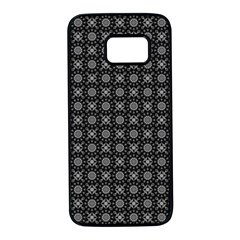 Kaleidoscope Seamless Pattern Samsung Galaxy S7 Black Seamless Case
