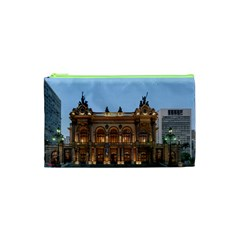 Municipal Theatre Of Sao Paulo Brazil Cosmetic Bag (xs)