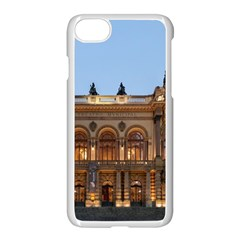 Municipal Theatre Of Sao Paulo Brazil Apple Iphone 7 Seamless Case (white)
