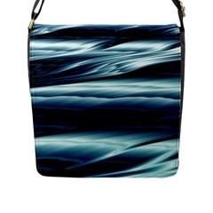 Texture Fractal Frax Hd Mathematics Flap Messenger Bag (l)
