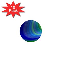 Space Design Abstract Sky Storm 1  Mini Magnet (10 Pack)
