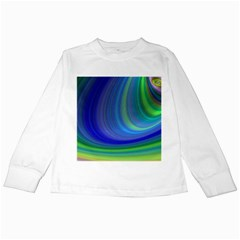 Space Design Abstract Sky Storm Kids Long Sleeve T Shirts