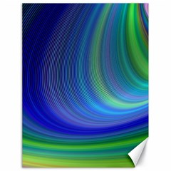 Space Design Abstract Sky Storm Canvas 18  X 24
