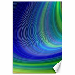 Space Design Abstract Sky Storm Canvas 20  X 30