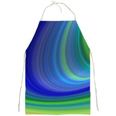 Space Design Abstract Sky Storm Full Print Aprons by Sapixe