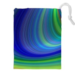 Space Design Abstract Sky Storm Drawstring Pouches (xxl)