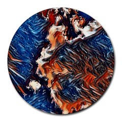 Wow Art Brave Vintage Style Round Mousepads