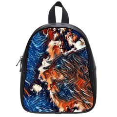 Wow Art Brave Vintage Style School Bag (small) by Sapixe